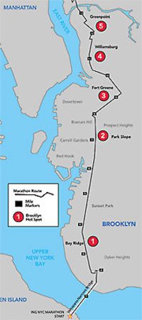 NYC Marathon On Sunday Check Out Map Only The Blog Knows Brooklyn - Nyc marathon map
