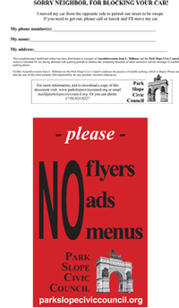 looking for a no flyers ads menus signs only the blog knows brooklyn